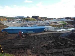 【11月】栃ヶ沢高台造成工事現場