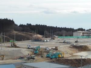 【16年1月】高台2造成工事現場②