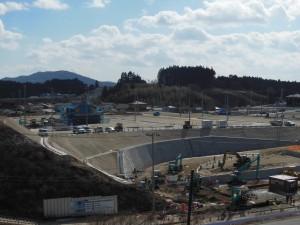 【16年2月】高台2造成工事現場②